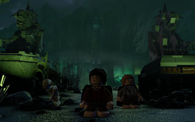 Ds Lego Lord Of The Rings Mordor