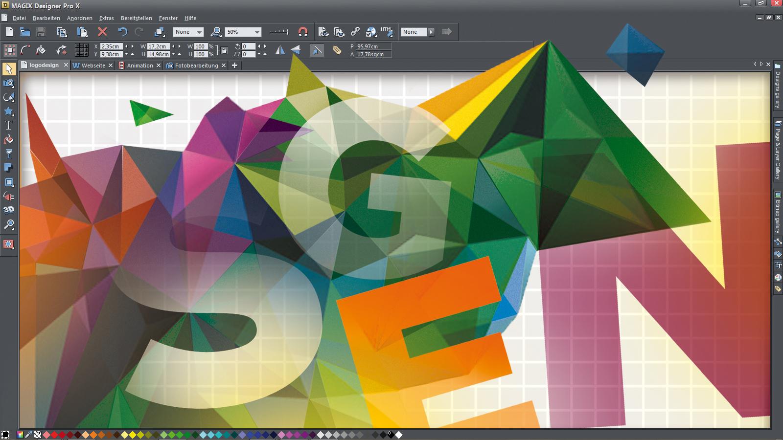 Magix Xara Designer Pro X - Test / Review - game2gether