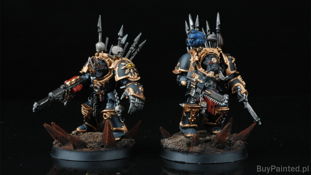 Warhammer Space Marines Paint Jobs