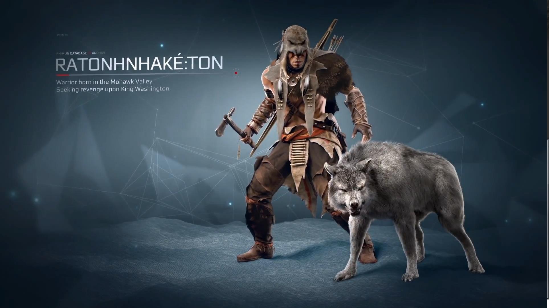 ratonhnhaketon assassins creed 3 - photo #3