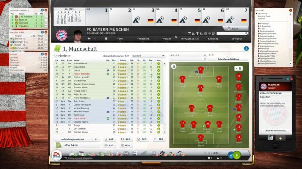 Cheats Fussball Manager 14