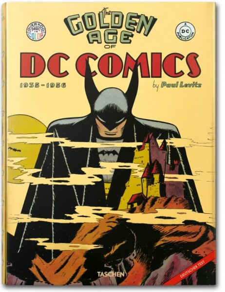 The Golden Age of DC Comics Cover
