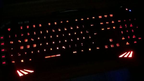 Speedlink Virtuis Gaming Tastatur Beleuchtung