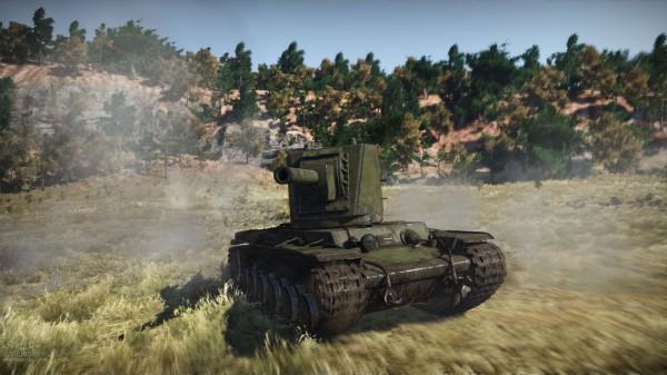 War Thunder - KV-2_hd