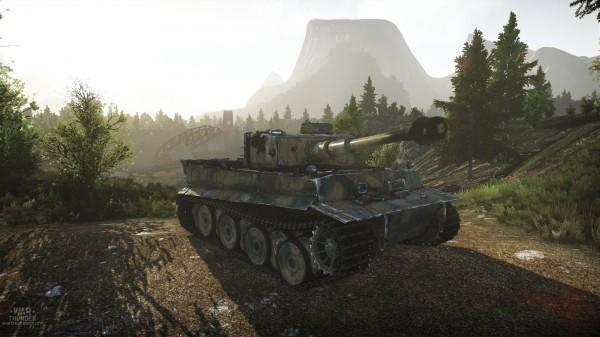 War Thunder - Tiger_hd