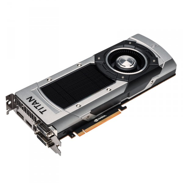 ASUS GeForce GTX Titan Black, 6144 MB DDR5, DP, HDMI, DVI