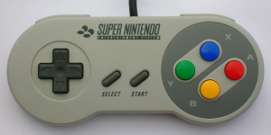 Der Super Nintendo Controller