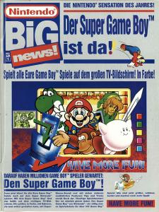 Werbung aus dem Club Nintendo Magazin, Ausgabe 04/1994