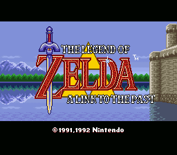 The Legend of Zelda III - A Link to the Past