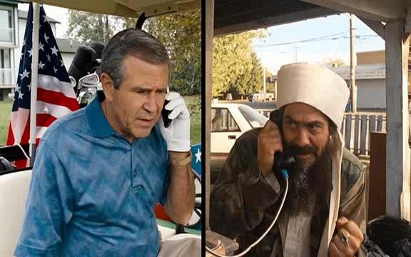 Beste Freunde? Georgie W. Bush und Sammy Bin Laden