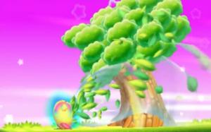 Veganische Ernährung auf Kirby-Art