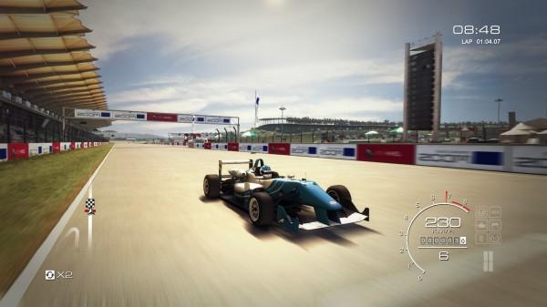 Geschwindigkeitsrausch bei Open Wheel