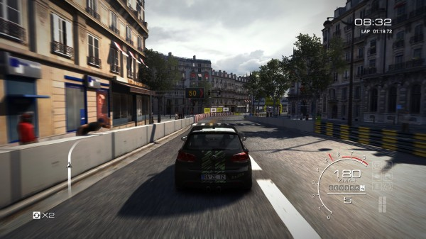 Die Straßen von Paris im Street Modus