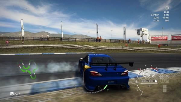 Drift - hier geht ohne qualmende Reifen nichts