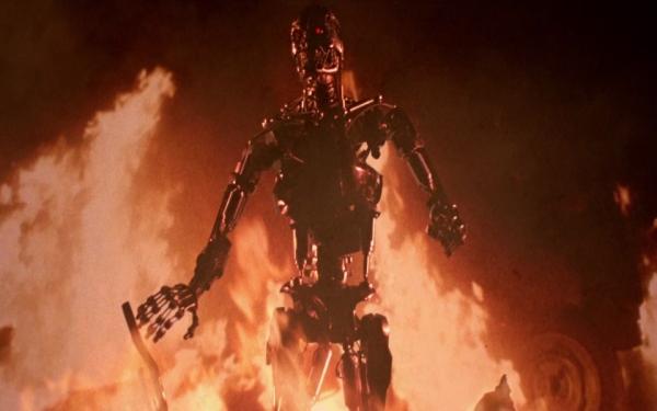 Er erhob sich aus der Asche des Feuers... Quelle: The Terminator - BluRay-Fassung