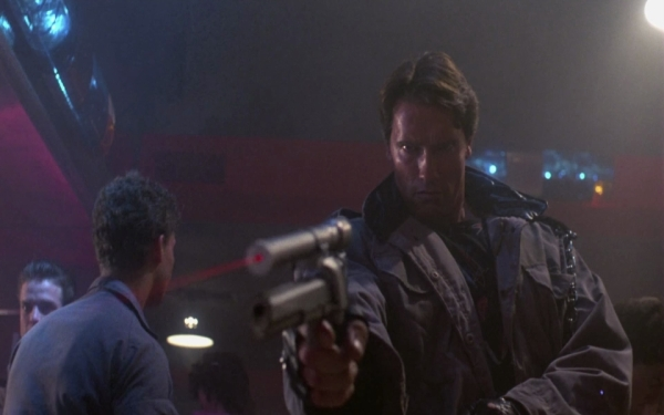 T800 Cyberdyne Systems, Modell 101 Quelle: The Terminator - BluRay-Fassung