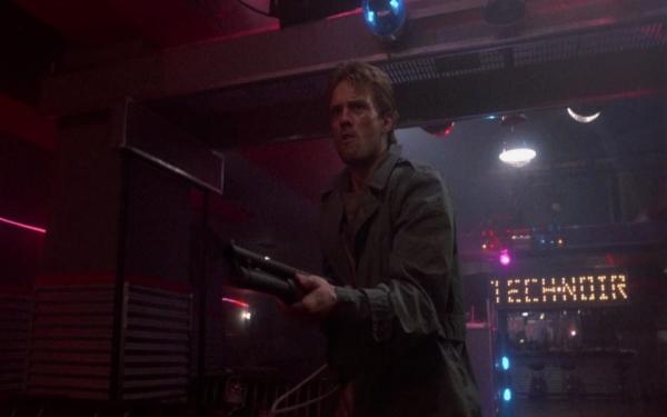 Reese, im TechNoir Quelle: The Terminator - BluRay-Fassung