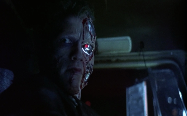 Schwarzenegger als T800 Quelle: The Terminator - BluRay-Fassung