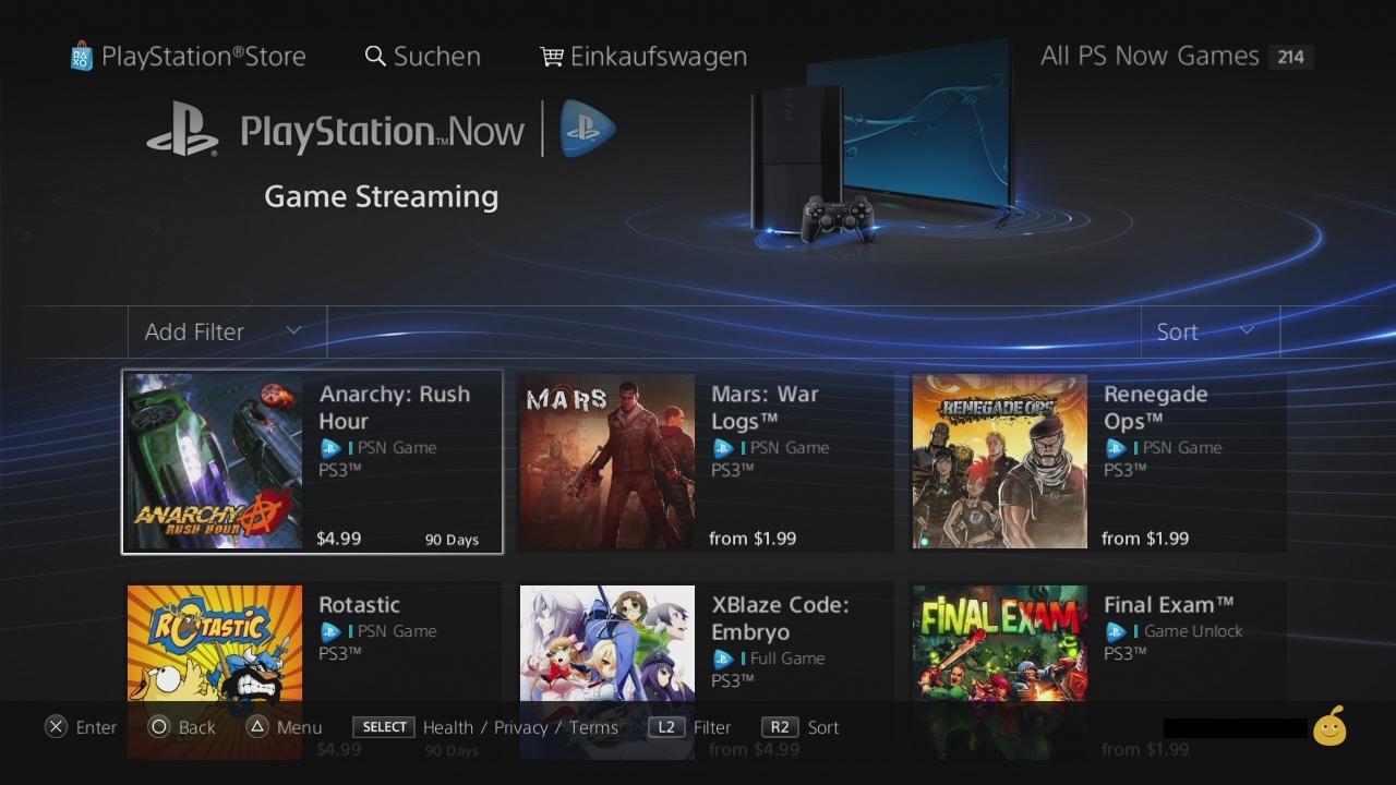 playstation now streaming dienst verf gbar game2gether. Black Bedroom Furniture Sets. Home Design Ideas