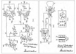 Cathode ray tube amusement device, schematischer Aufbau. Quelle: wikipedia.org