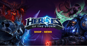 Heroes of the Storm Shop News