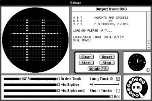 OXO auf einem EDSAC Emulator Quelle: wikipedia.org