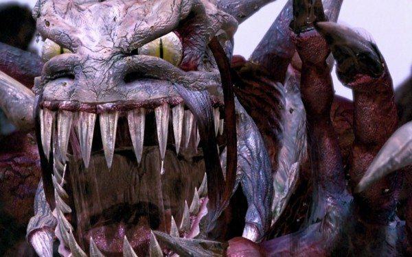 Welchen Sinn diese Kreatur hatte, wird wohl nie geklärt werden Quelle: Mortal Kombat 2 (Bluray)