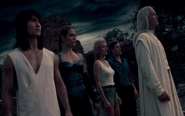 Die Hauptdarsteller der zweiten Verfilmung von Mortal Kombat Quelle: Mortal Kombat 2 Bluray