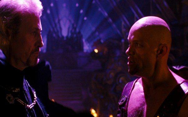 Shinnok und Shao Kahn Quelle: Mortal Kombat 2 (Bluray)