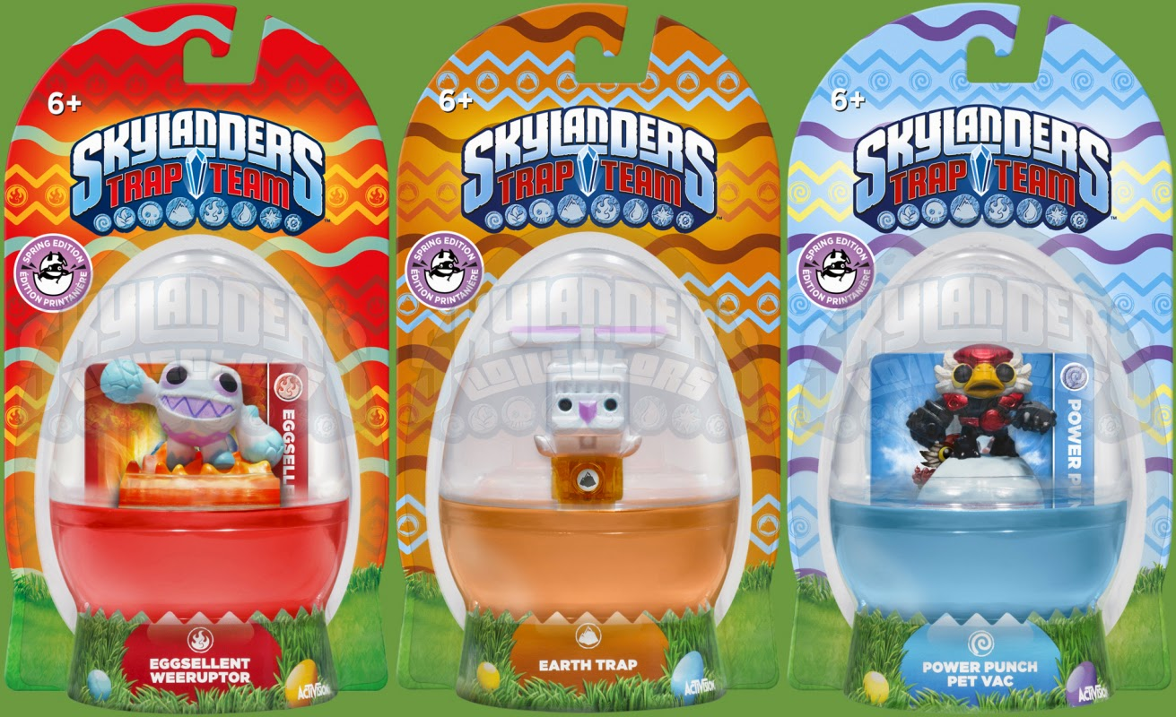 Skylanders easter bunny deco trap earth trap eggsellent weeuptor powerpunch pet vac game2gether - Deco trap ...