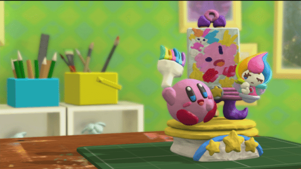 Kirby und der Regenbogenpinsel