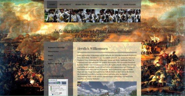 Die Homepage des IRPM in eindrucksvollem Gewand. (klicken um auf die Homepage zu gelangen)