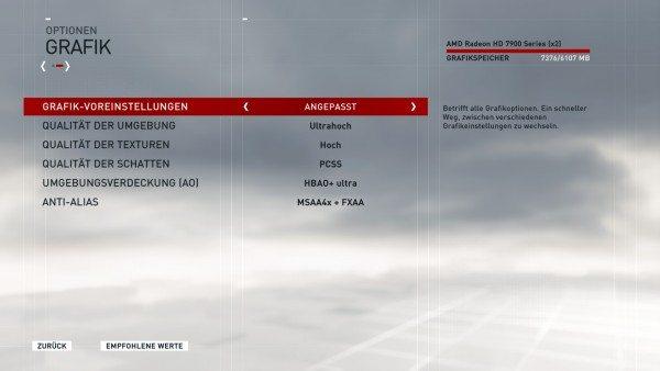Assassin's Creed Syndicate - Grafikeinstellungen