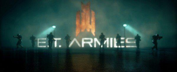 """E.T. Armies (Extraterrestrial Armies) vom iranischen Indie-Entwickler """"Raspina Studio""""."""