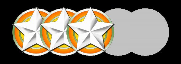 Wertung 3 stern