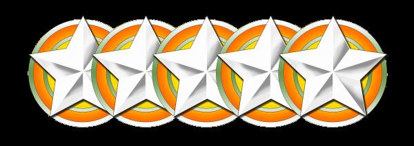 Wertung 5 Sterne