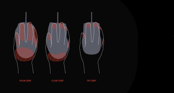 Maus Griffstile