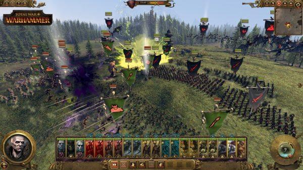 Famoses Zusammenspiel vieler unterschiedlicher Einheiten in den gewaltigen Schlachten.
