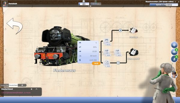 forschung rail nation