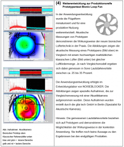 Technische Eläuterungen_04 Weiterentwicklung zur Produktionsreife Prototypentest Bionic Loop Fan