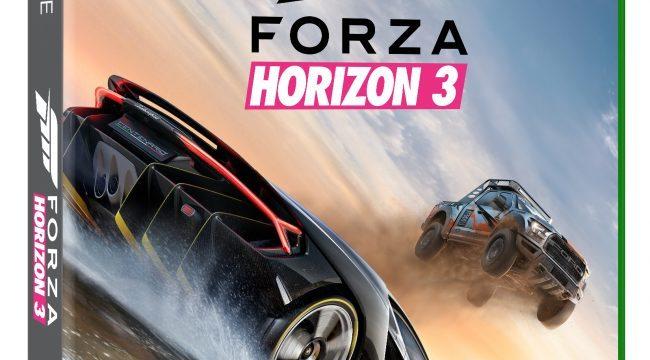 Forza Horizon 3 Left Box Shot