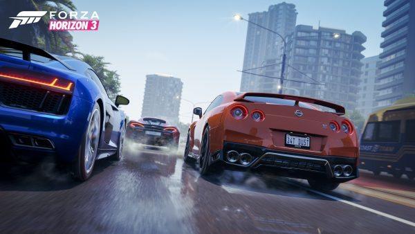 City Racing in Forza Horizon 3