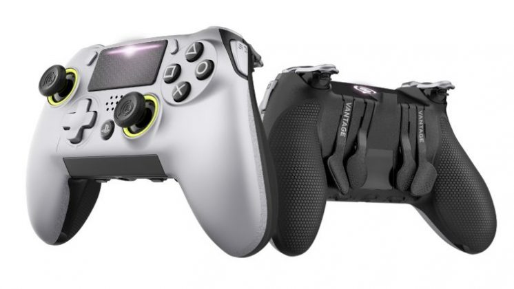 SCUF Vantage SCUF Vantage: Neuer PS4 Pro-Controller FrontController
