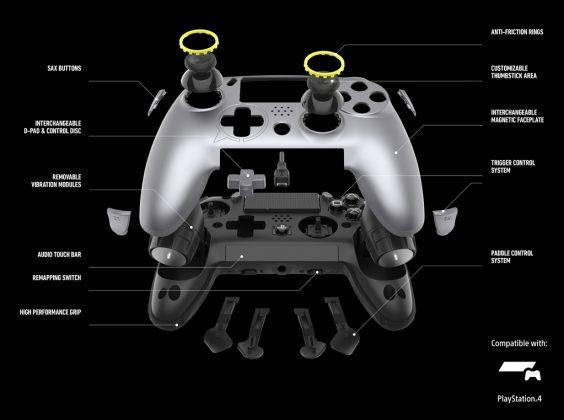 SCUF Vantage: Neuer PS4 Pro-Controller Details
