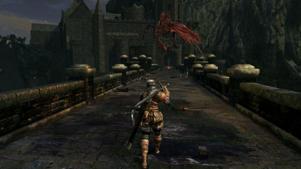 Dark Souls Remastered Test Drachen