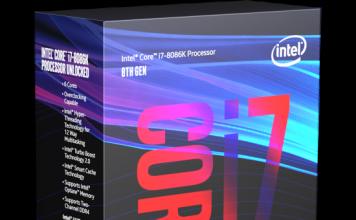 Intel Core i7 8086K Box
