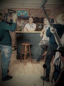 Die 1337 esport pub Gründer beim Videodreh