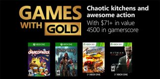 Games with Gold Oktober