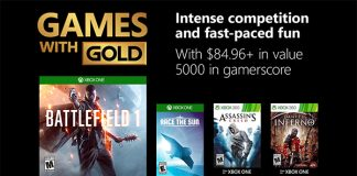 Games with Gold November 2018