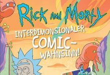rick an morty comic